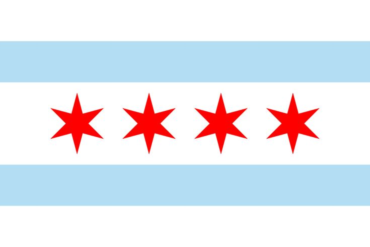 Flag of Chicago, Illinois - Flag of Chicago - Wikipedia