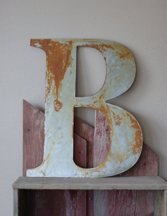 Large Metal Wall Letters best 25+ metal wall letters ideas on pinterest | industrial wall