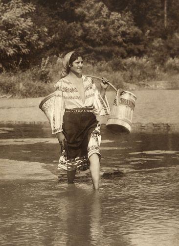 Gypsy - Romenia 1910.***