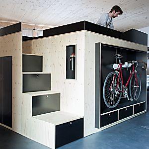 pura inspiração: este móvel em formato de cubo é ideal
