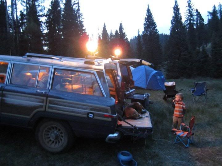 First Wagoneer Camping Trip. - International Full Size Jeep Association