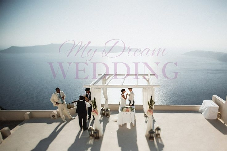 Andromeda villas-Santorini Anastasia and Denis 9 July 2013, Wedding planner: http://mydw.ru