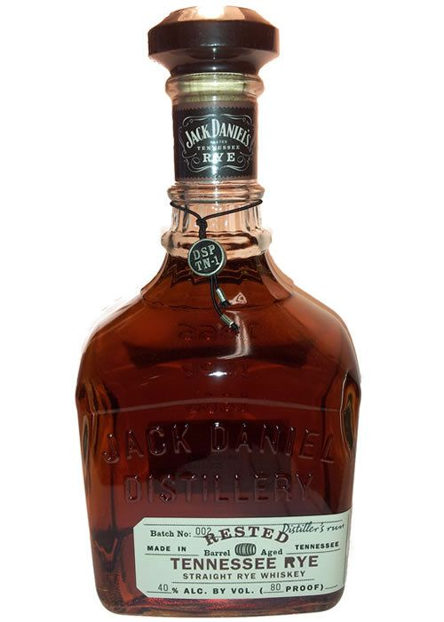 Jack Daniel's Rested Tennessee Rye 80proof 75cl retail price around $50usd