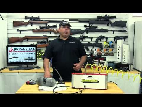 ▶ Shoebox Freedom8 Electric Compressor - Review by AirgunWeb - YouTube ML: Nice equipment for your weekend/bugout place!