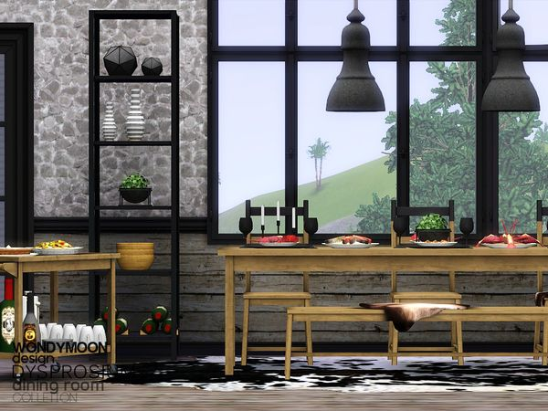 Dysprosium Dining by wondymoon - Free Sims 3 Furniture Downloads The Sims Resource Custom Content Caboodle - Best Sims3 Updates and Finds