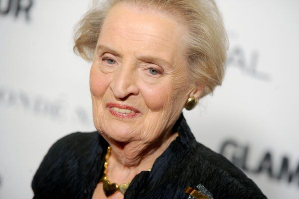 Famous refugees: Madeleine Albright's family fled Czechoslovakia from the Nazis. She became the 64th US Secretary of State.