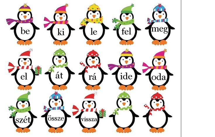pingvinek+igekötőkkel+playdoughtoplato.jpg (954×608)