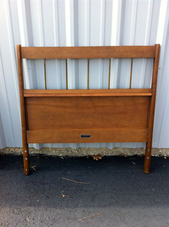 Pair Two Mid Century Bedroom Twin Headboards by by OffCenterModern