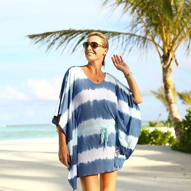 Take the ocean with you in the Waves Tie Dye Kaftan now just $56 on the www.jamjam.com.au website.  #jamjam #kaftan #summer #summerfashion #summerstyle #islandlife #islandgirl #tiedye #kaftan #kaftanmodern #summerfun #beachwear #beachstyle #goldcoast #brisbane #waves #beachfashion #brisbanefashion #brisbanestyle