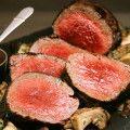 carnes con champignons para comidas para bodas