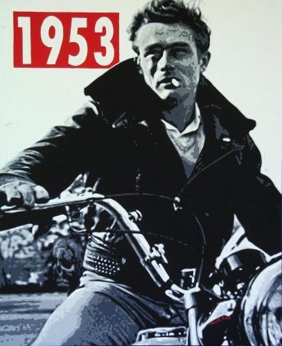 James Dean 1953 by Coco Zanvit