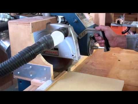 Rockwell Vintage Radial Arm Saw - YouTube