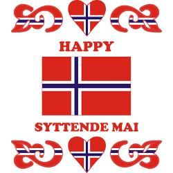 synttede mai | happy_syttende_mai_greeting_card.jpg?height=250&width=250&padToSquare ...