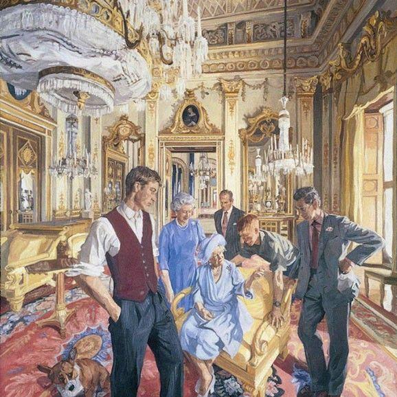 John Wonnacott 'Royal Family – A Centenary Portrait'