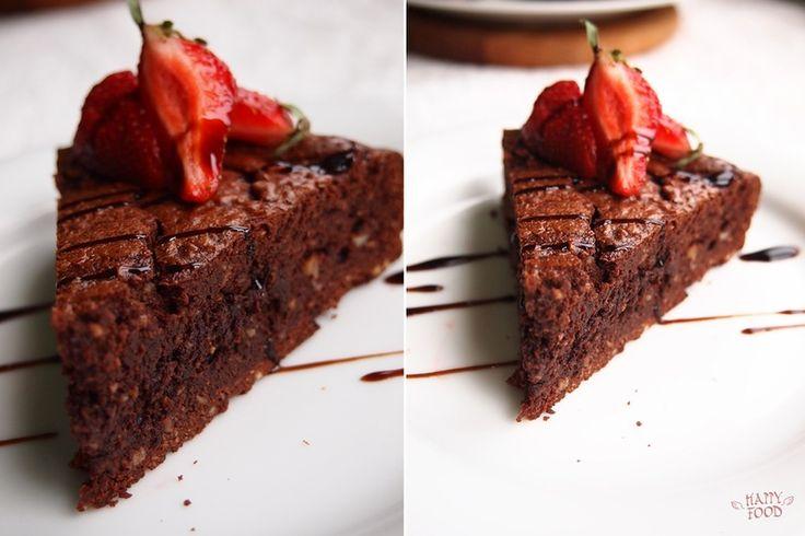 HAPPYFOOD - Влажный шоколадно-кофейный пирог на оливковом масле (пошаговый рецепт)