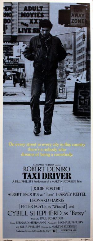Taxi Driver, 1976 - original vintage poster listed on AntikBar.co.uk
