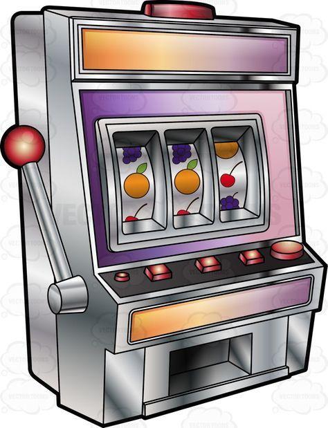 Slot machine clipart free