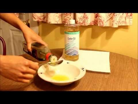 Olejový čistič pleti s ricínovým olejom - Ricínový olej