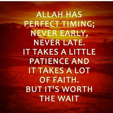 ALLAH (SWT) listens to all our prayers. There is never a No. ALLAH has His own Timing and His timing is the Best!
