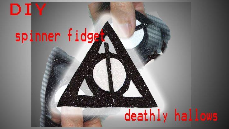 DIY SPINNER FIDGET DEATHLY HALLOWS