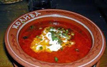 """""""Borsch"""" Bieten soep uit de Oekraïne"""