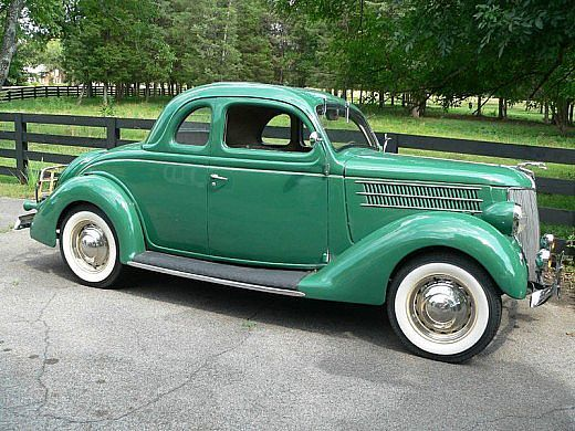 1936 Ford Coupe - (Ford Motor Company, Dearborn, Michigan 1903-present)