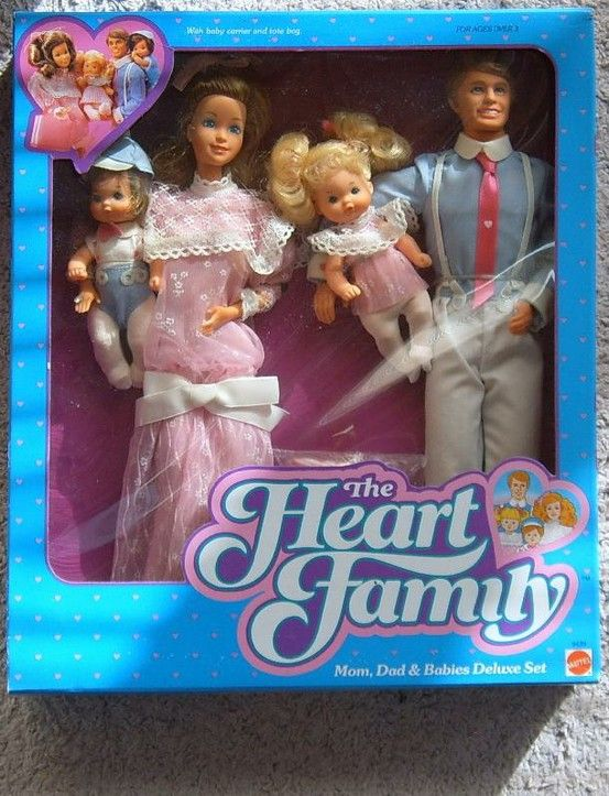 The Heart Family Dolls.. remember this?? I still have these dolls.... somewhere, ...said Shelly