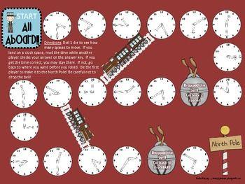 Polar Express Game practicing TIME!