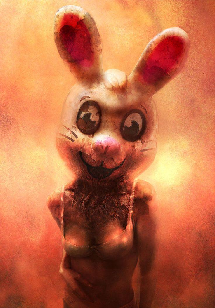 Illustrations of Ryohei HaseRabbit, Artists, Inspiration, Ryohei Hase, Gallery, Colors, Illustration, Children, Child Mindfulness
