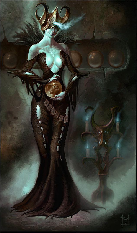 The Fortune Teller, Tyler James on ArtStation at http://www.artstation.com/artwork/the-fortune-teller