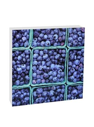 46% OFF Art Block Blueberries -Fine Art Photography On Lacquered Wood Blocks