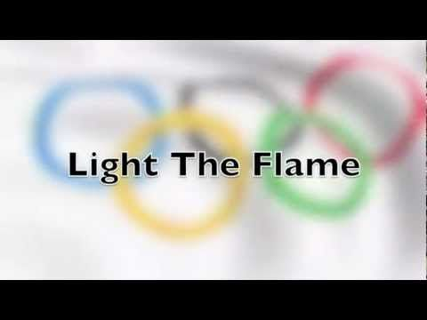 Light The Flame - FunMusic for Little Kids - YouTube -generic olympics song 'faster, higher, stronger' light the flame, unfurl the flag, live the dream, athletes here in peace etc.
