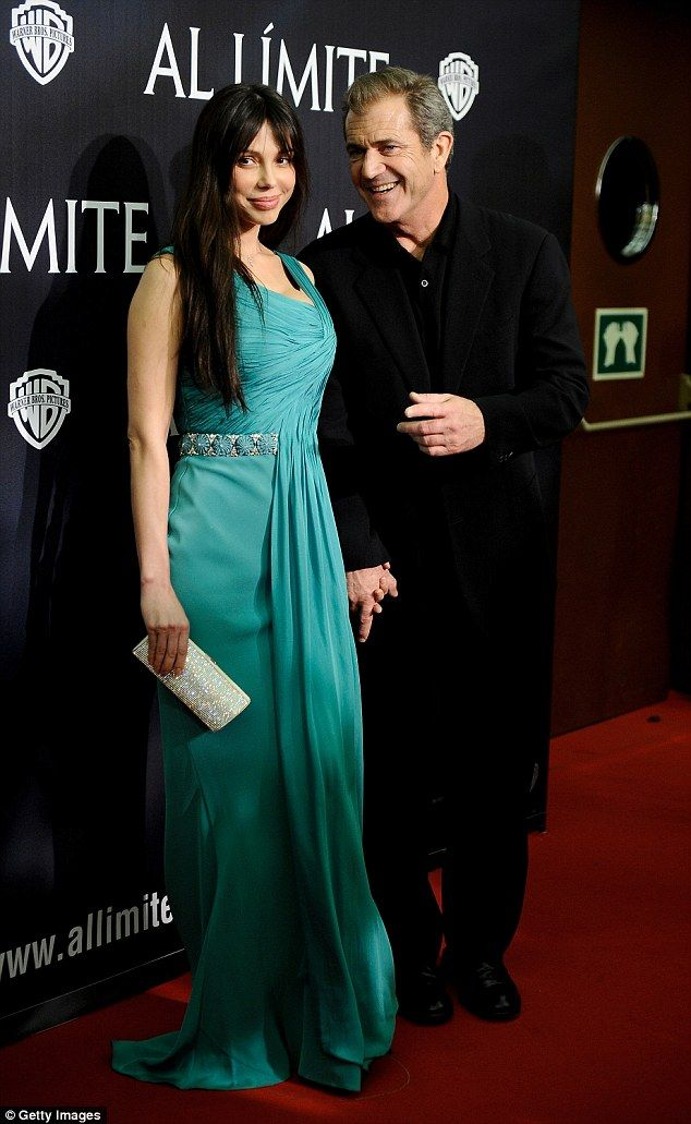 Red carpet regular: He then enjoyed a relationship with Russian pianist Oksana Grigorieva, 45, who formerly dated Timothy Dalton, with the pair sharing a daughter Lucia