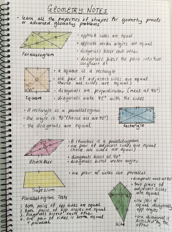 Geometry study notes The best way to handle geometry