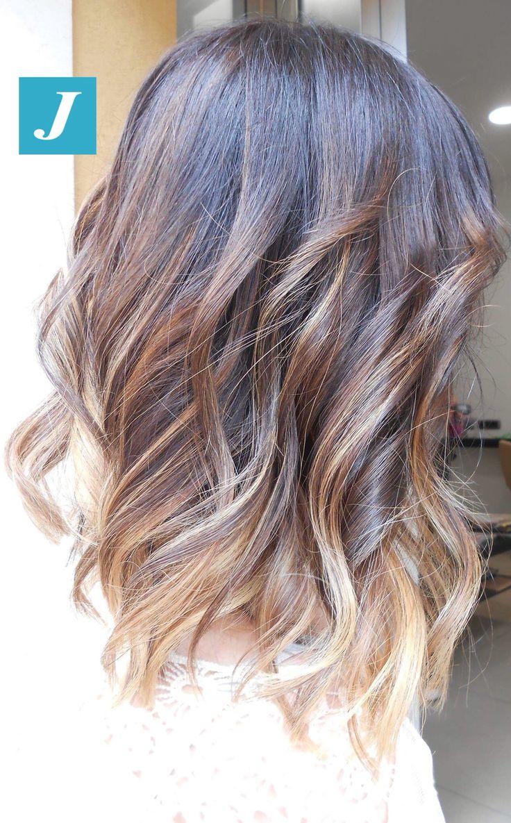 #longbob e Degradé Joelle Natural #cdj #degradejoelle #tagliopuntearia #degradé #igers #musthave #hair #hairstyle #haircolour #longhair #ootd #hairfashion #madeinitaly #wellastudionyc