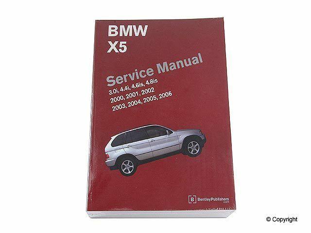 Repair Manual Fits 2000 2006 Bmw X5 Bentley Repair Manuals Bmw X5 Repair