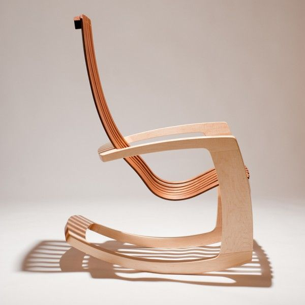 Modern Rocking Chair Modern Rocker Inside  142 Copy SF Furniture Studio J.  Rusten The