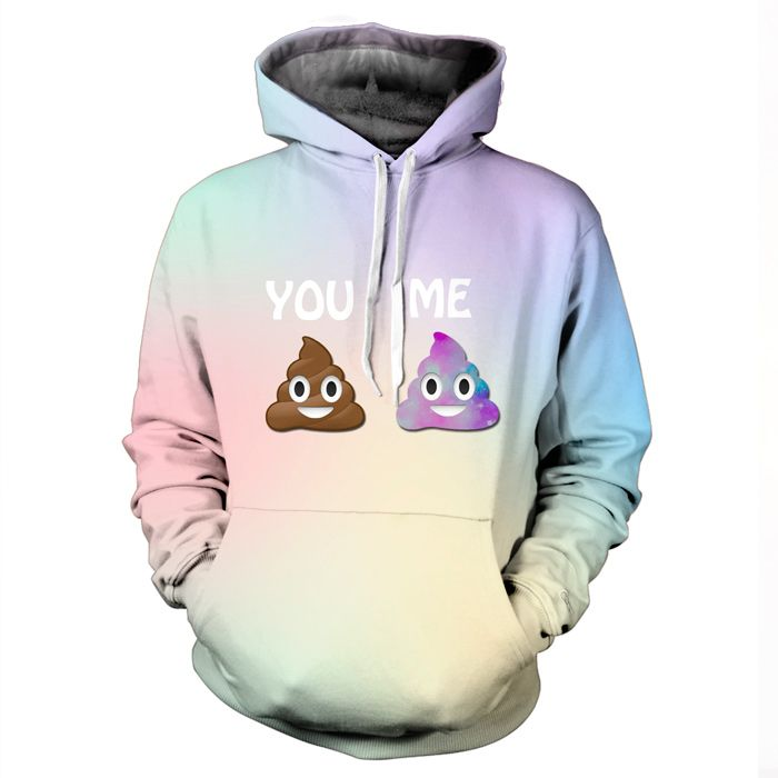 Pastel Galaxy Emoji Hoodie by Yo Vogue Clothing - This beautiful hoodie is made using an extremely soft garment and HD Photographic Printing Technology. The fine mixture of polyester and cotton allow us to print high definition images and create unique, fresh and innovative products. Just $69.95 from yovogueclothing.com Stand out from the crowd - Yo Vogue Clothing!