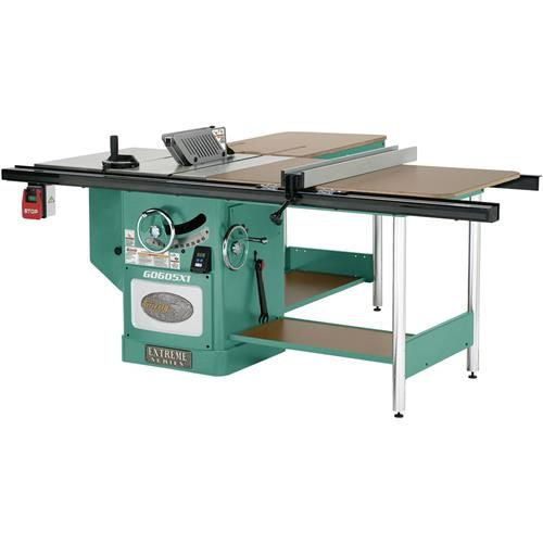 "Shop our G0605X1 - 12"" Extreme Table Saw - 5HP, Single-Phase at Grizzly.com"