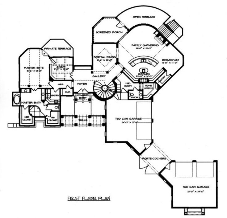 230 best floor plans images on pinterest house floor plans Italian House Designs Plans mediterranean style house plan 5 beds 5 5 baths 4170 sq ft plan 413 italian house plans designs