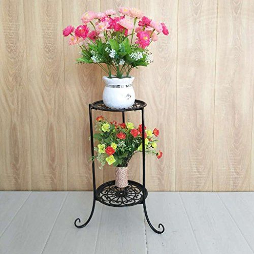 Round Plant Stand Metal Plant Stand Iron Plant Stand Plant