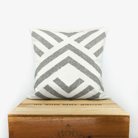 Aztec pillow cover  Geometric pillow  by ClassicByNature on Etsy, $50.00