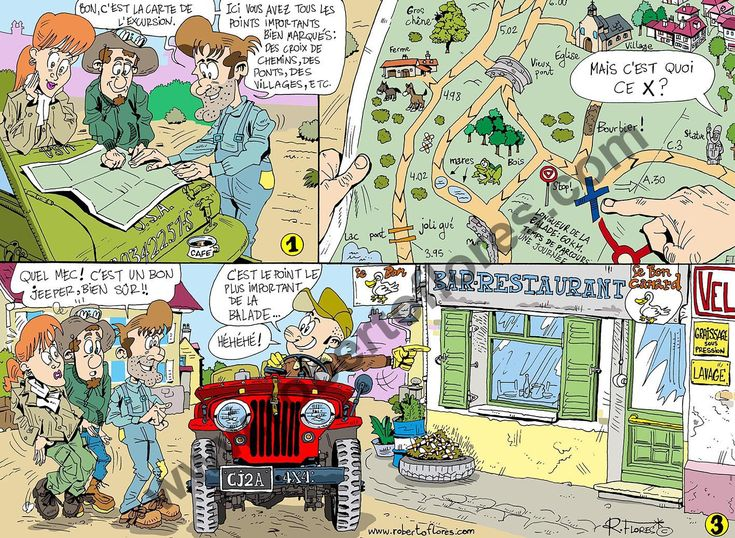 "#Comic #cartoon for issue  nº 73  French bimontly magazine""4x4 Story"", March-April 2017. ""4x4 Story"" is a publication mainly focused in #jeeps, #classic #offroad #vehicles (#trucks, #4x4s, etc.)."
