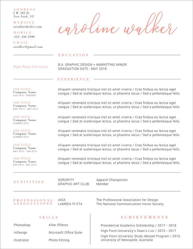 Best 25+ Resume layout ideas on Pinterest Resume ideas, Layout - resume layouts