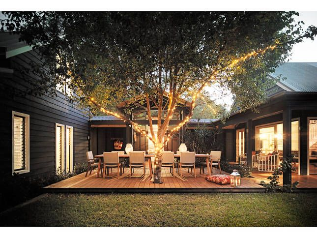 One of my favourit spots at our beach house - to dine with friends, do yoga under the tree, or simply be in a zen like state