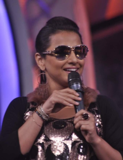 Vidya Balan promoting 'Ghanchakkar' On the Sets of Zee TV's DID 'Super Moms'