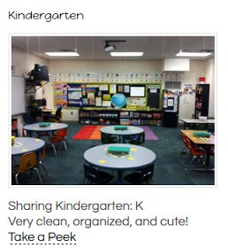 Sharing Kindergarten: Preparing for Kindergarten- Classroom Set Up