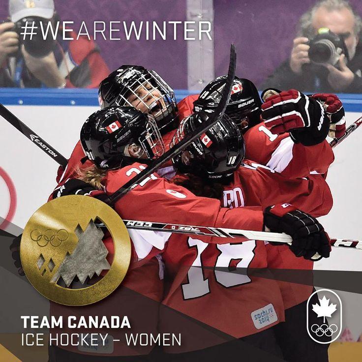 Team Canada GOLD!!!  #Sochi2014 #Hockey