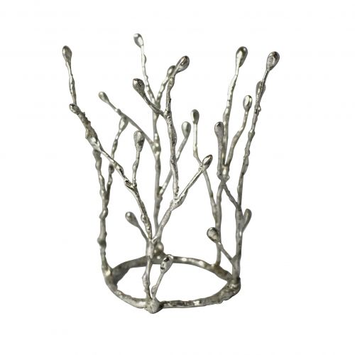 The crown Sälg from www.thecrownbride.com.  The crown was created for a winter wedding with forest theme