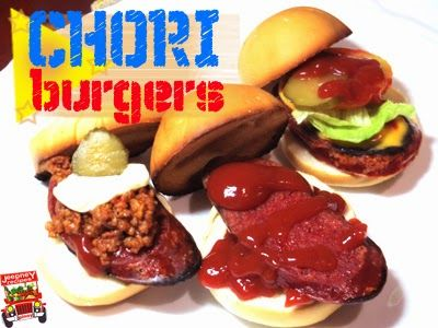 Chori Burger (New York's Best Burger)  http://jeepneyrecipes.blogspot.com/2014/09/chori-burger--best-burger.html